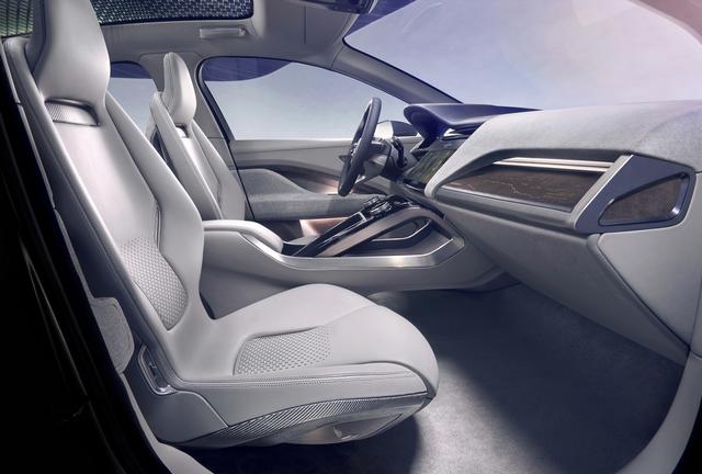 Jaguar Dévoile Le Concept I-PACE : Le SUV Électrique Performant 759086JaguarConceptIPACE4
