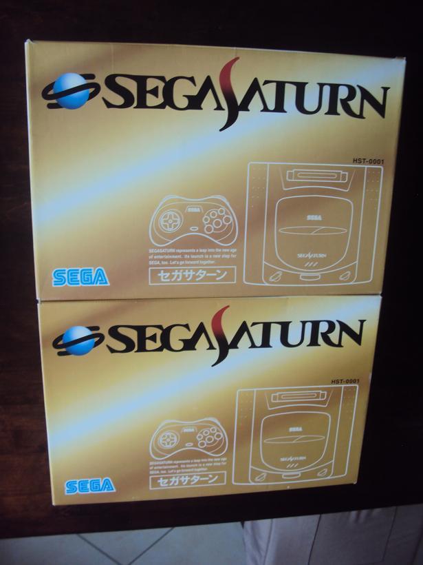 [Vds] Console sega saturn V1 japan HST-0001 en boite + 3 jeux 760222DSC04446