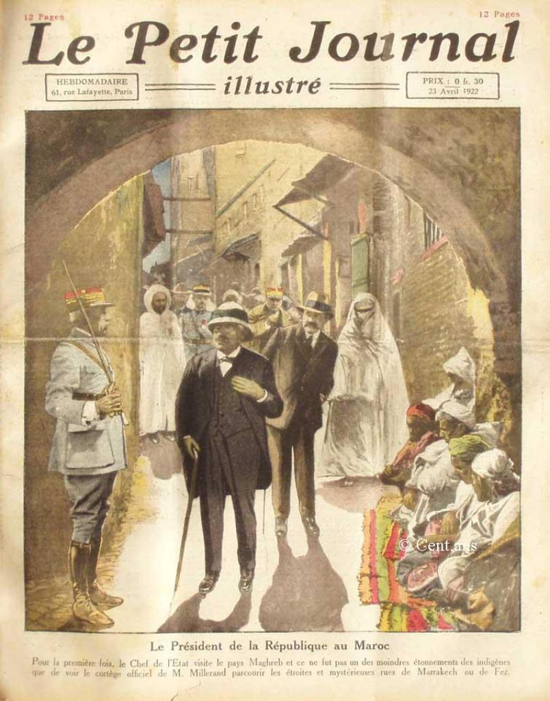 صفحات من تاريخ المغرب الحديث من خلال Le Petit journal illustré - صفحة 3 760788pj163523041922
