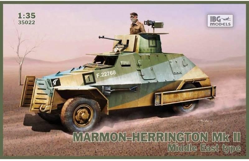 Marmon Herrington Mk.II - Grèce 1941 - IBG 1/35 761150IBG35022