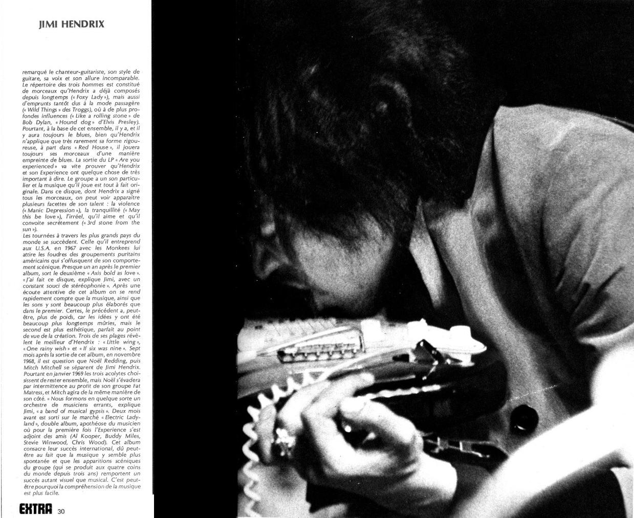 Jimi Hendrix dans la presse musicale française des années 60, 70 & 80 - Page 2 762105Extra
