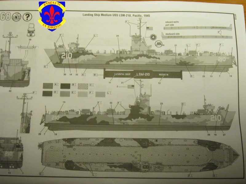 U.S. Navy Landing Ship Médium (Early) au 1/144 de Revell par Pascal 94 762268IMG37491