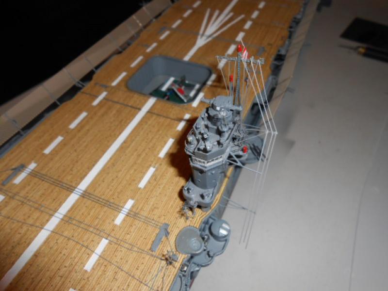 PA AKAGI 1/350 de chez Hasegawa PE + pont en bois par Lionel45 - Page 6 763002Aka007