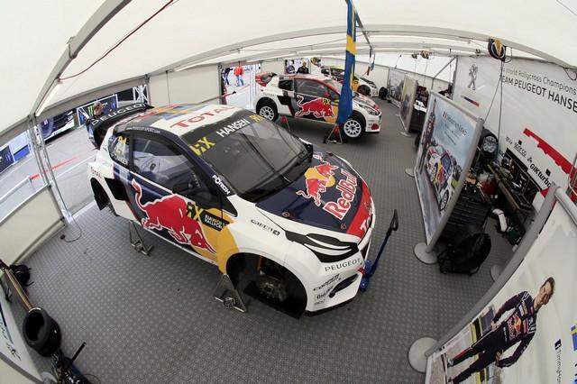 Rallycross - Les PEUGEOT 208 WRX dans le match, Timmy Hansen sur le podium à Hockenheim 763355590ecc7880405