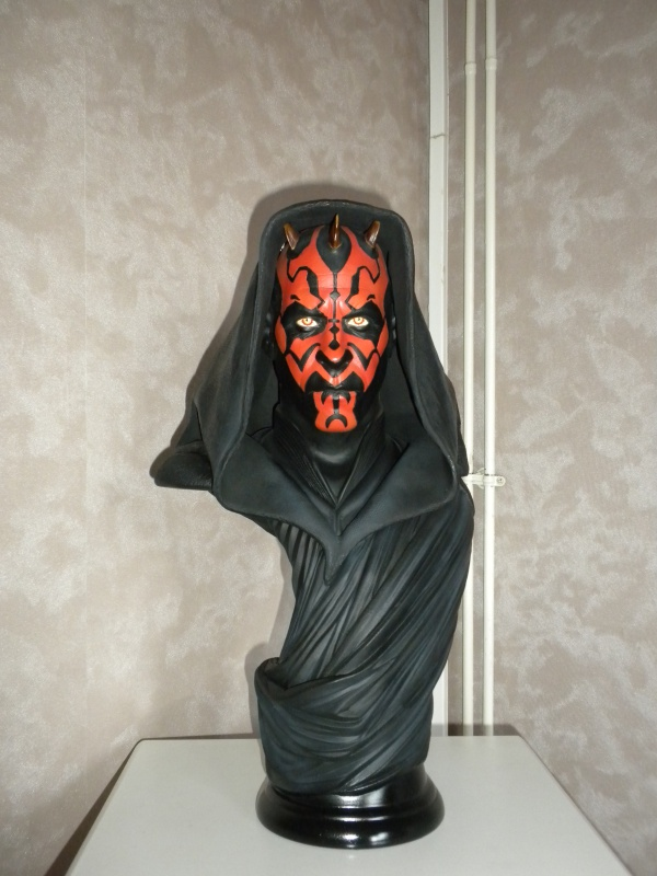 Sideshow - Darth Maul - Legendary Scale Bust 763371DSCN5234