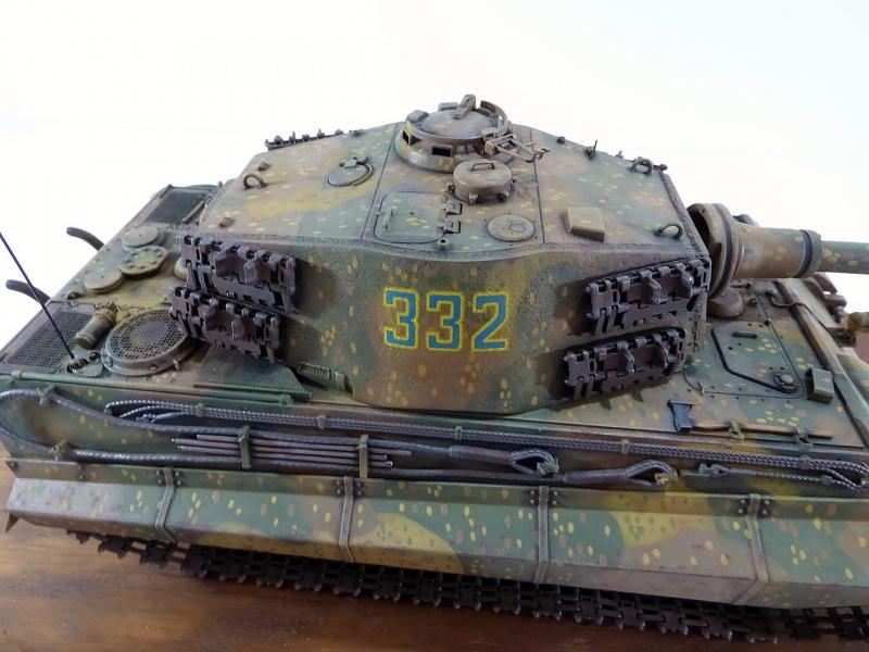 tiger - King Tiger Sd.Kfz.182 Henschel Turret Takom 1/35 766669P1060520Copier