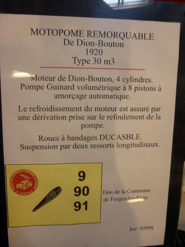 Musée des pompiers de MONTVILLE (76) 766700AGLICORNEROUEN2011118