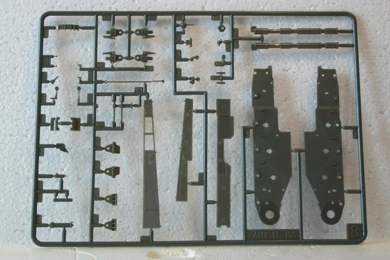 AMX 13 canon de 155 1/35ème Réf L 782 768575AMX13155782017Heller135