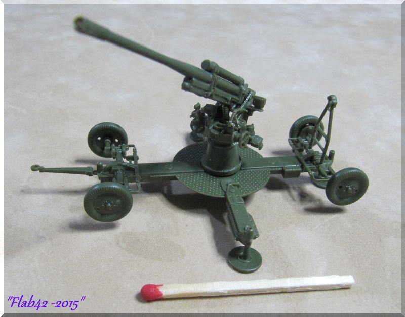 Canon anti-aérien Soviétique de 85mm - Zvezda - 1/72ème 768956971