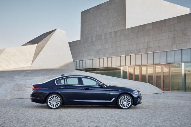 La nouvelle BMW Série 5 Berline. Plus légère, plus dynamique, plus sobre et entièrement interconnectée 769271P90237308highResthenewbmw5series