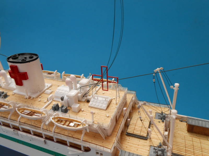 Hikawa Maru Hopital 1/350 pont/PE/babioles Hasegawa 769901DSCN6157