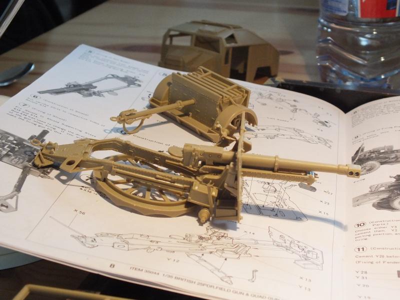 British 25pdr. field gun & Quad Gun Tractor (Canadian Ford F.G.T)  (Tamiya 1/35 réf. 35044) 770128DSCF7913