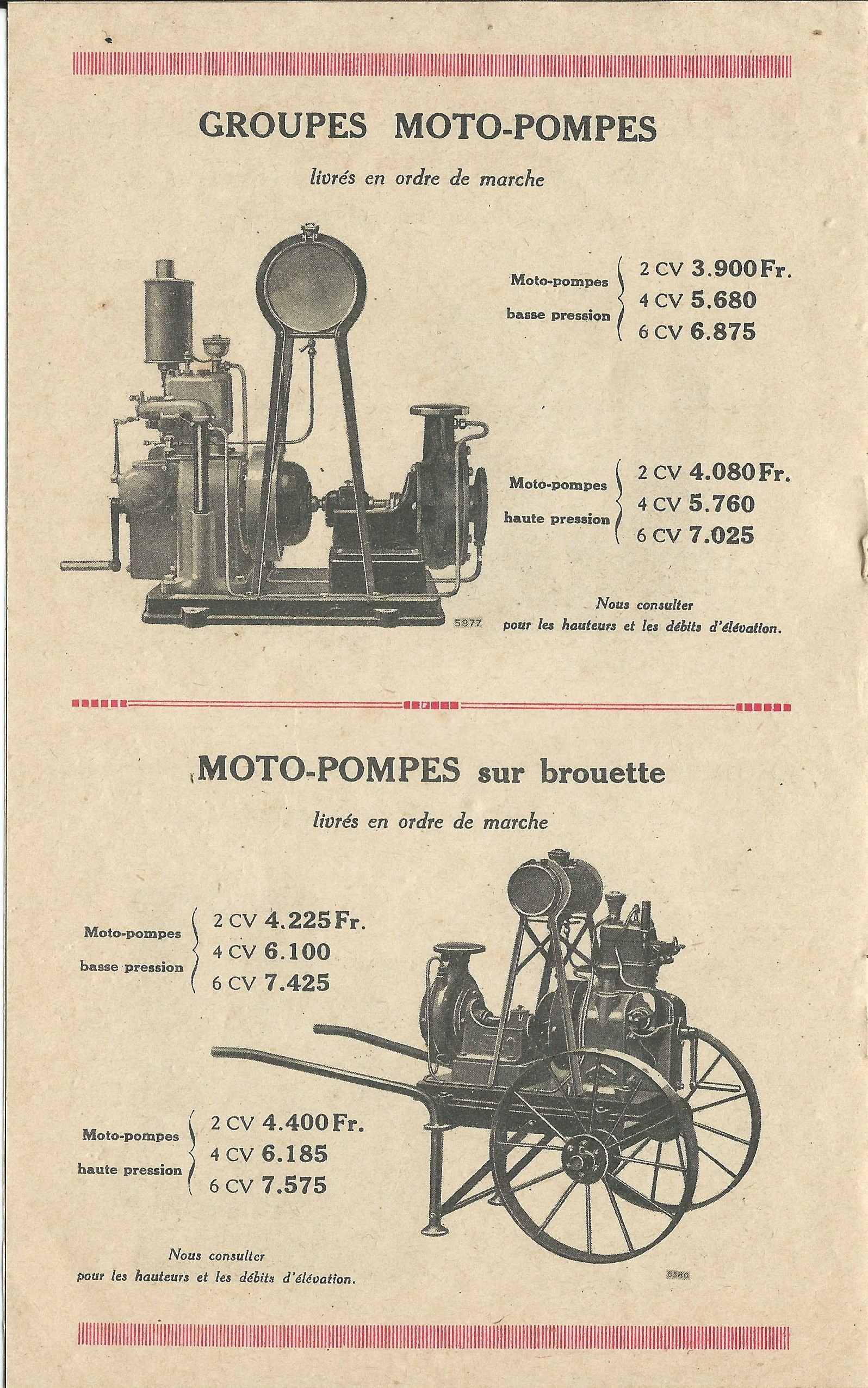RENAULT - moteur renault 263 770830RENAULTmoteursfixes1927006