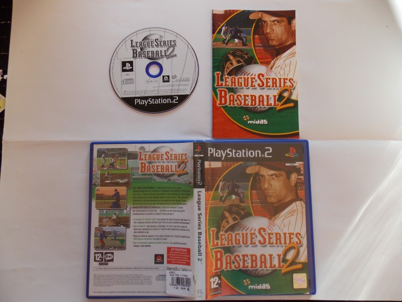 Leagues Series Baseball 2 771362Playstation2LeagueSeriesBaseball2
