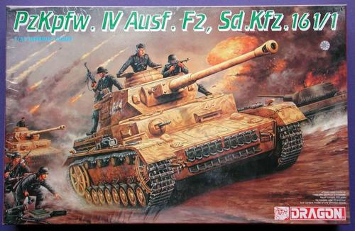 PzKpfw. IV Ausf. F2 - Dragon 771654Dragon9019