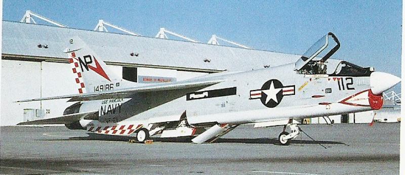 VOUGHT F-8 CRUSADER  772381VoughtF8JCrusaderVF2111971