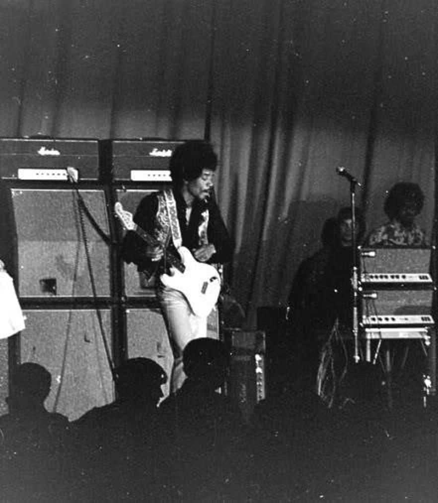 Tampa  (Curtis Hixton Hal) : 18 août 1968 773219902n