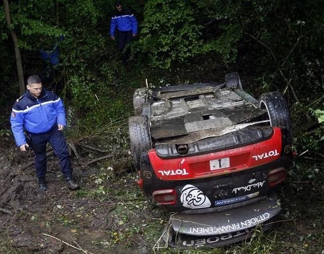 WRC Rallye de France/Alsace 2013 : (jour-4) Victoire Sébastien Ogier 7734882013Rallyedefrancesortieloeb1