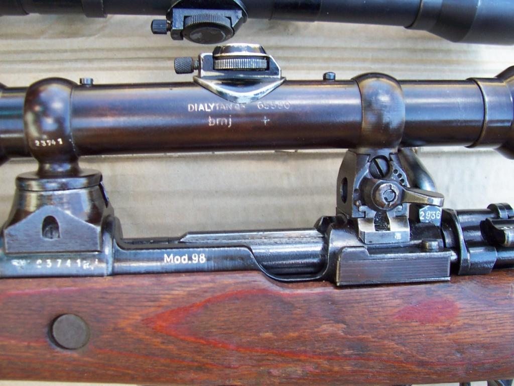 L'arme du tireur d'élite allemand de la Wehrmacht (1939-1945) : le Mauser K98k 773819m1cger241