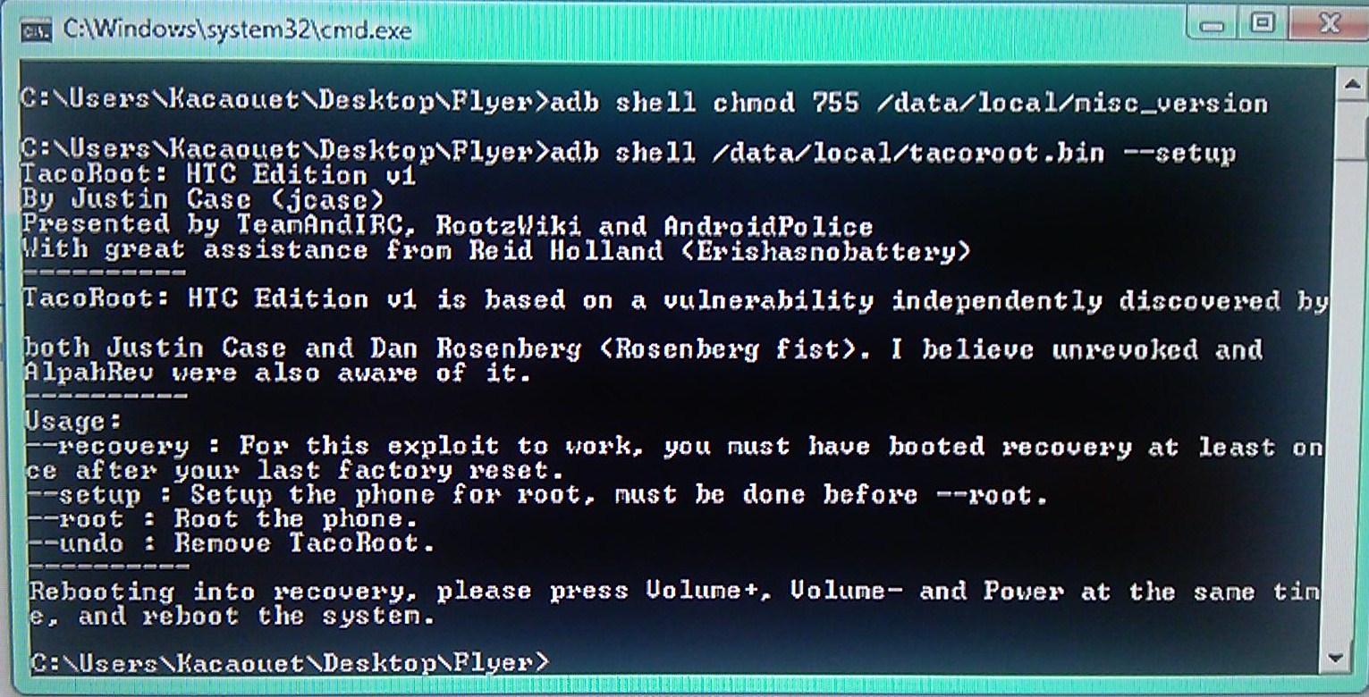 [Tuto] Downgrade vers GB, passage en S.Off, installation Leedroid GB 2.2.0 (en images) 775343DowngradeHC24