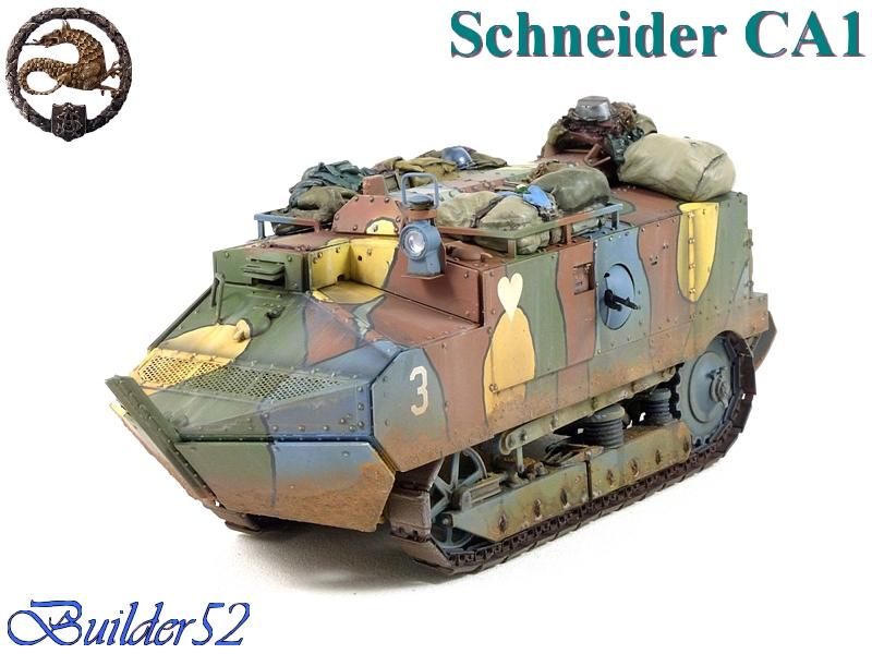 CHAR SCHNEIDER CA 1 - HOBBY BOSS 1/35 776594P1050068