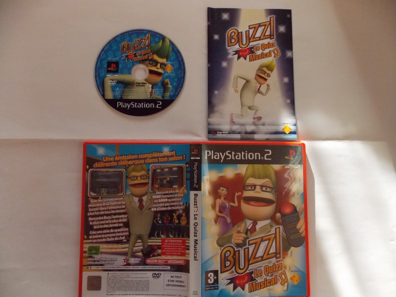 Buzz! : Le Quizz Musical 776676Playstation2BuzzlequizzMusical