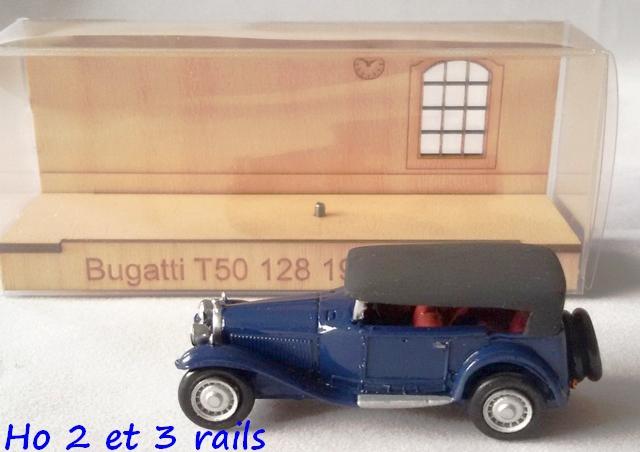 """Wagon porte autos Bugatti """"M. Fritz Schlumpf"""" 777607CarbamodellBugattiT50128TomasR"""