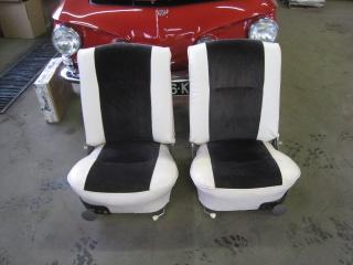 Rénovation de sièges avant sur Type 34 777959Siges1