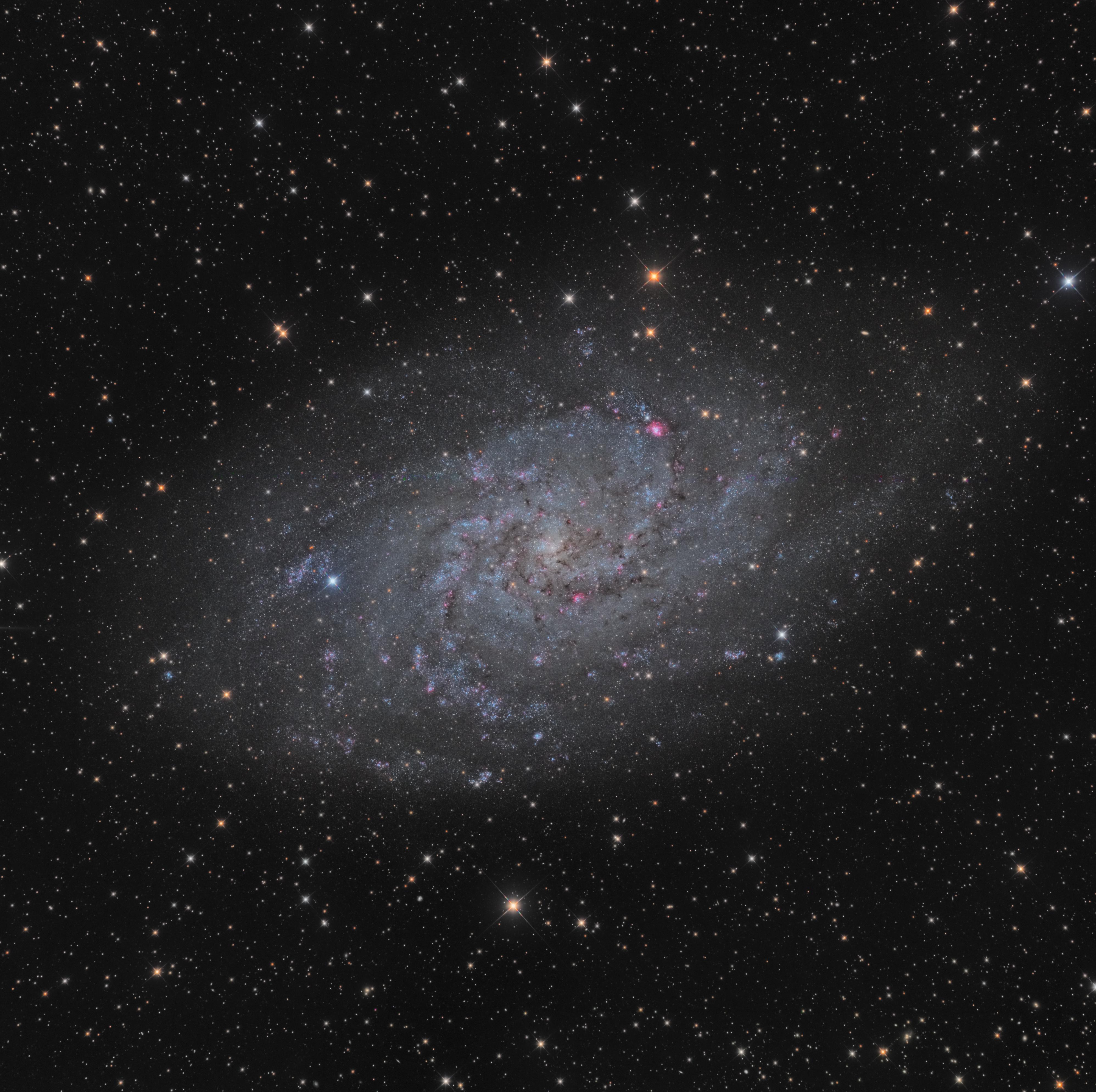 M33 en LRGB-Ha-OIII au 400 F3,8 778305peps