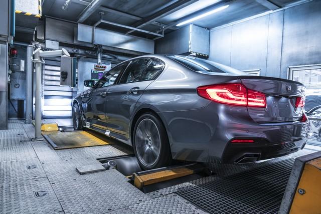 La nouvelle BMW Série 5 Berline. Plus légère, plus dynamique, plus sobre et entièrement interconnectée 778544P90237956highResbmwgroupplantding