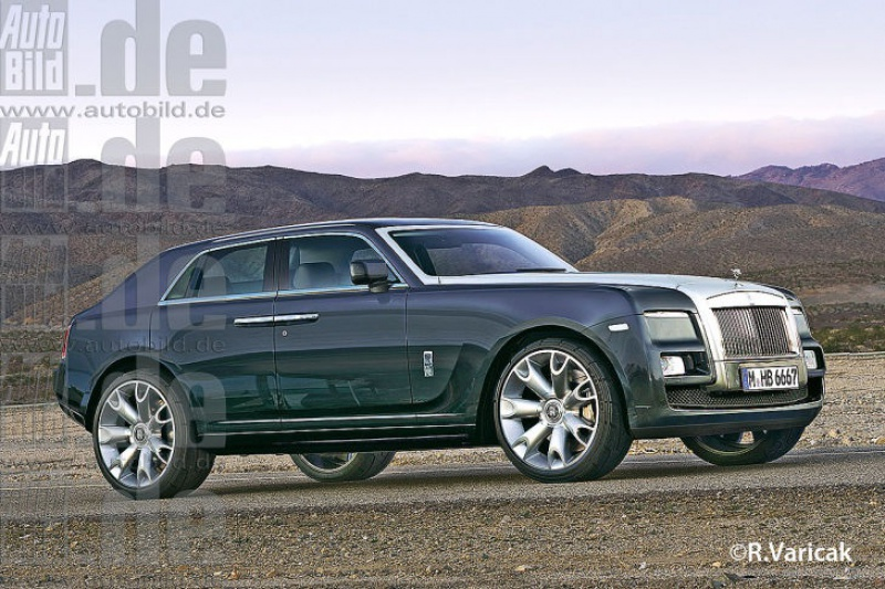 2017 - [Rolls-Royce] SUV Cullinan - Page 2 779663image