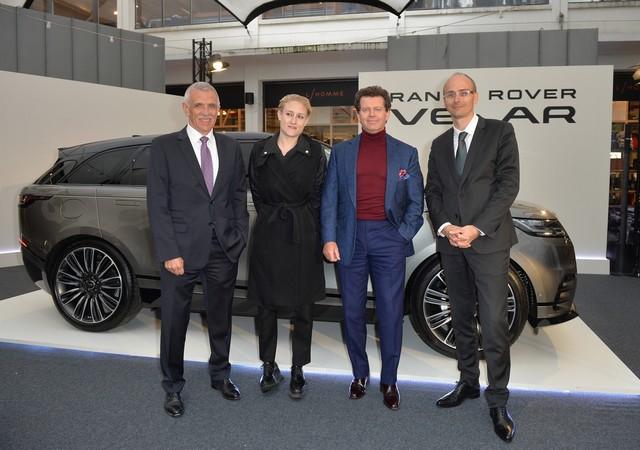 Le Range Rover Velar s'est dévoilé sur les toits de Paris 779727corpo0010