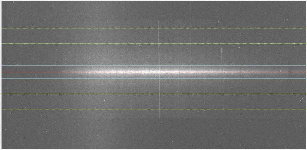 Vitesse radiale de la galaxie M66 depuis le Pic du Midi 780851Traitbulbesmall
