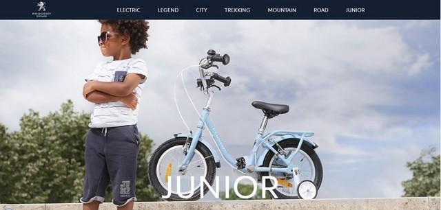 PEUGEOT Cycles lance son nouveau site web 781110UniversJunior