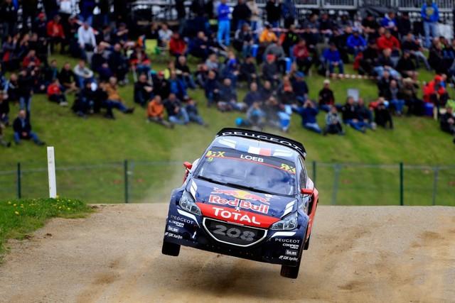 Rallycross - Belle deuxième place de Sébastien Loeb sur la PEUGEOT 208 WRX 781359HR8A4429