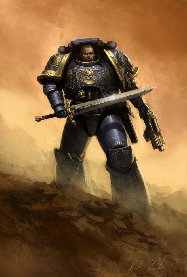[W40K] Collection d'images : Space Marines 781882UrielVentris1