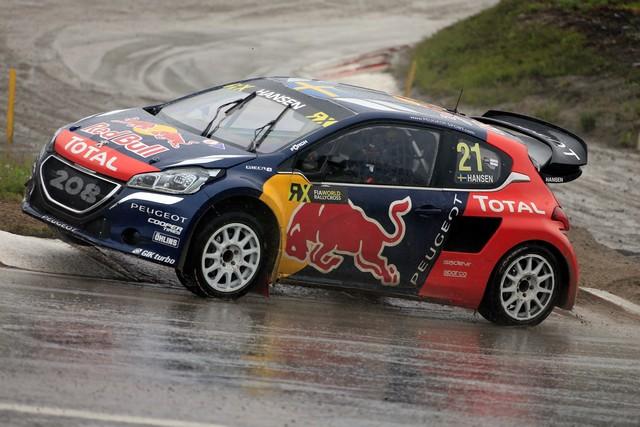 Les PEUGEOT 208 WRX enflamment la Suède - 2ème et 3ème en World RX et victoire en EURO RX 78375357782768a4cc6