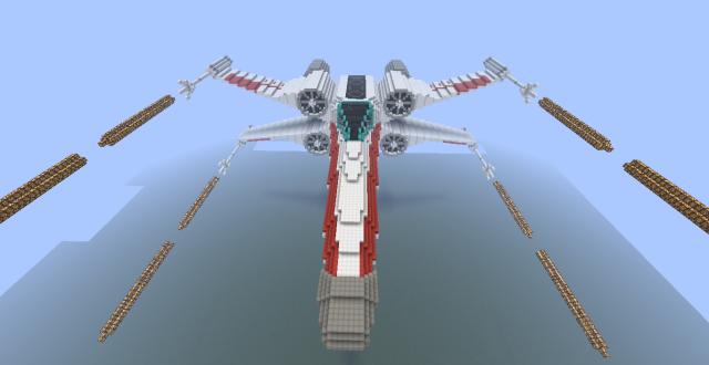 Réalisation des vaisseaux sur Minecraft 78379420120226212337