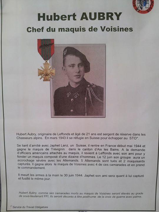 Sous-lieutenant FFI Hubert Aubry 783958Chasseur120882866743955059932086931194748372958478n