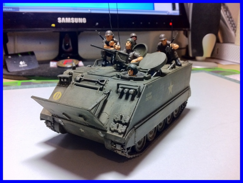 M 113 US ARMOURED PERSONNEL CARRIER 1/35 TAMIYA 784518photo1800x600