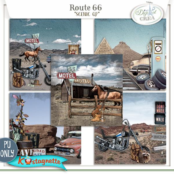 Collection Route 66 de Kastagnette + Promo 784699124
