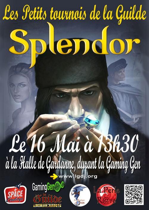 Les Petits Tournois de la Guilde : Splendor - 16 mai 785011SplendoraffichePetite150516