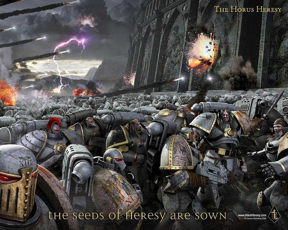 L'Ascension d'Horus de Dan Abnett, l'Hérésie d'Horus Tome 1 789130Horusrisingartwork
