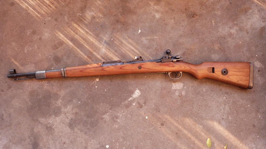 L'arme du tireur d'élite allemand de la Wehrmacht (1939-1945) : le Mauser K98k 790539P1010751