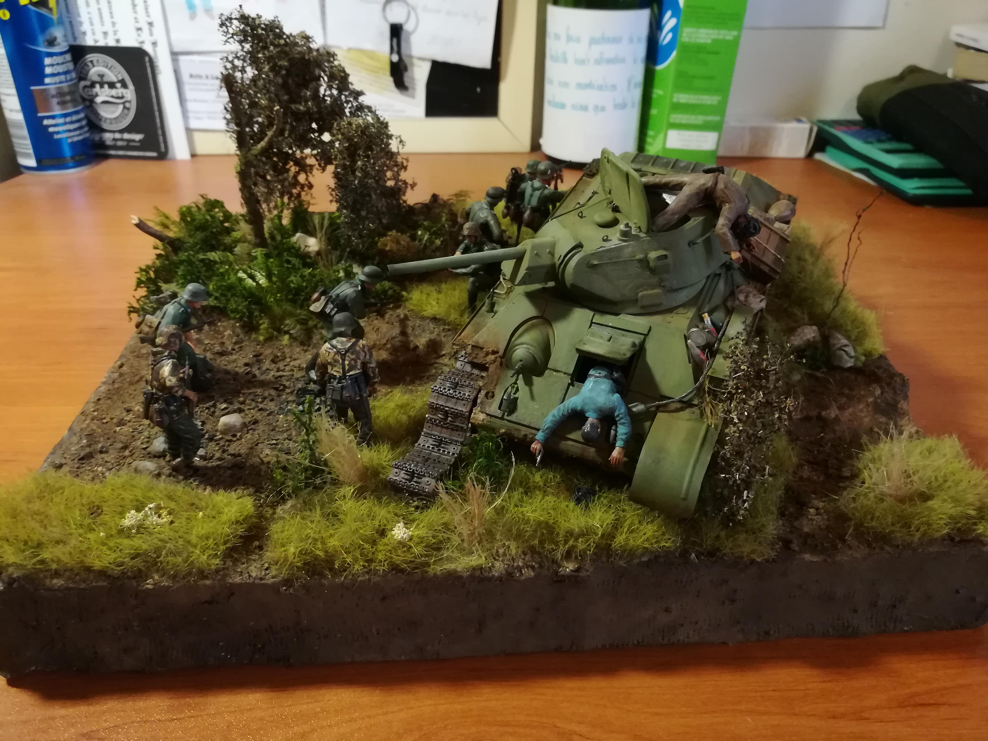 Front de l'Est, 1942 - T34 et Wehrmacht - Zvezda - 1/35 - Page 2 790588IMG20171219141030