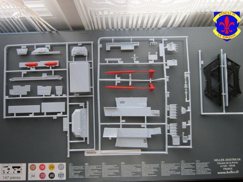Porte avions Charles De Gaulle au 1/400 d'Heller  791725IMG25321