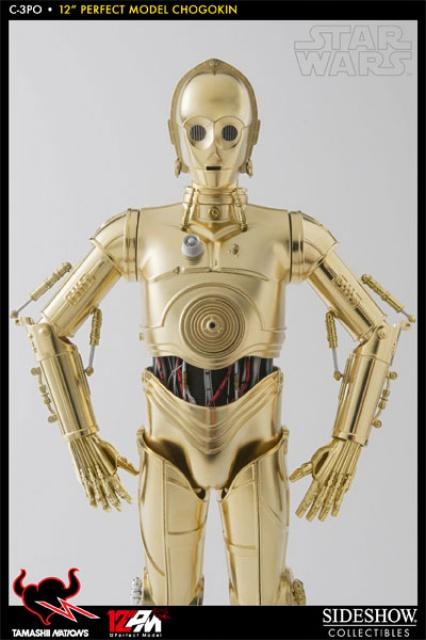 STAR WARS - C3PO - Perfect Model (TAMASHII AND SIDESHOW PERFECT CHOGOKIN) 7925829521