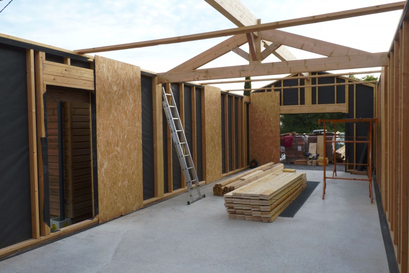 L'atelier ossature bois de Ridingfree 7927297701