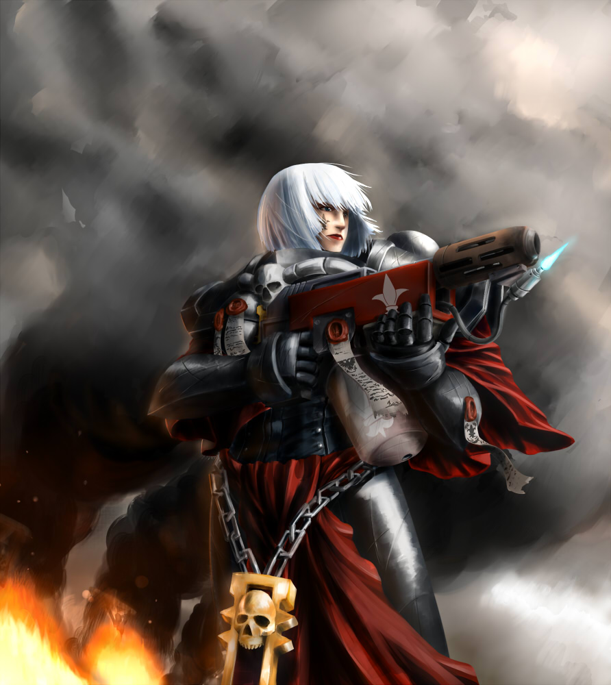 [W40K] Collection d'images : Inquisition/Chevaliers Gris/Sœurs de Bataille - Page 2 792778Sisterofbattle3