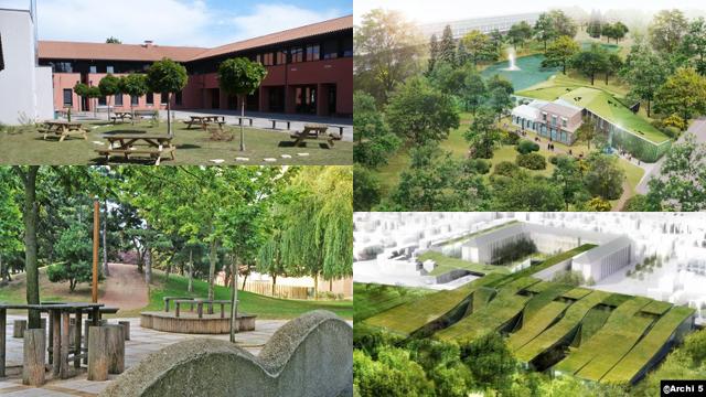 [Clos] Un espace vert pour le lycée 792834lyce